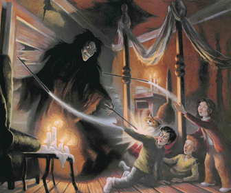 Snape in the Shrieking Shack
