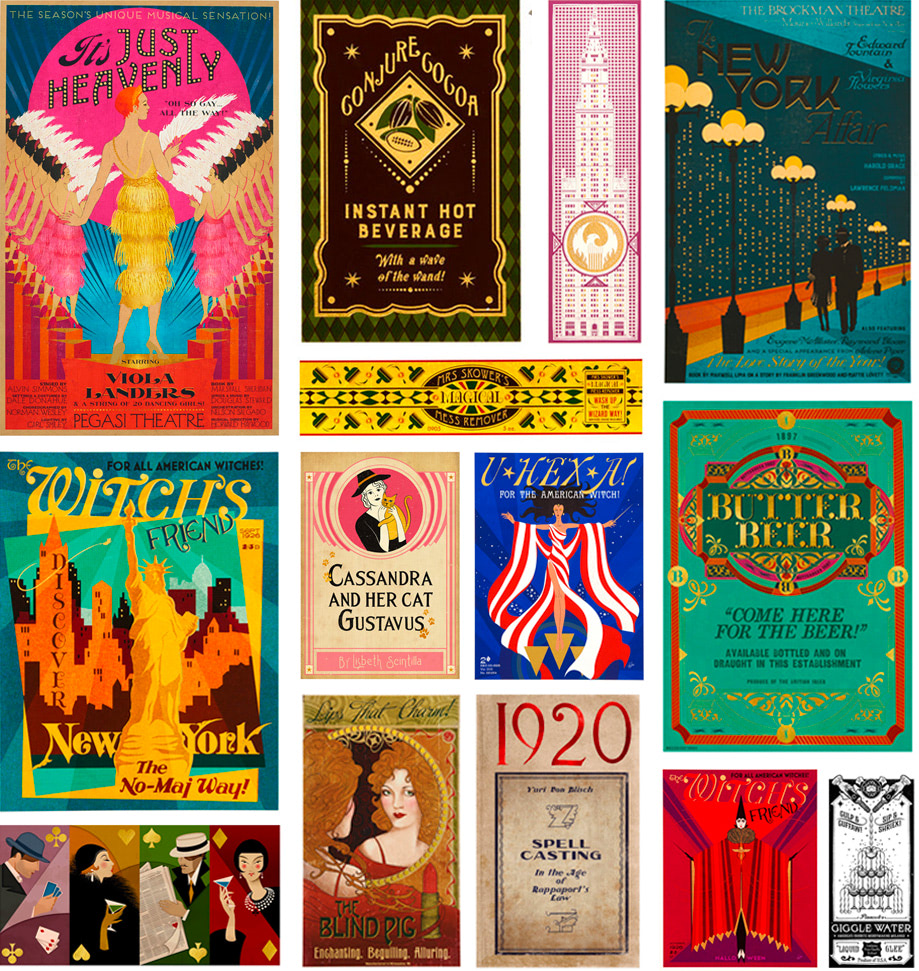 'Fantastic Beasts' graphic design by MinaLima