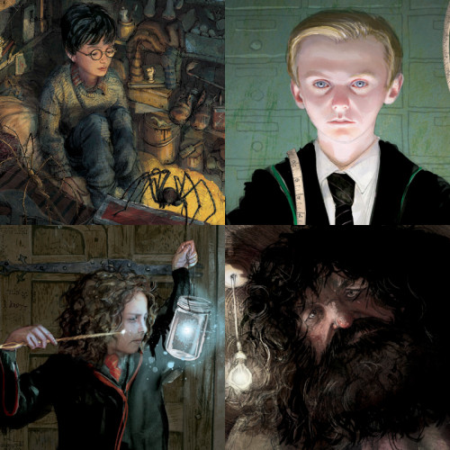 Explore artwork from the new Harry Potter illustrated editions