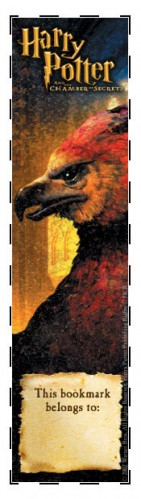 Fawkes the Phoenix bookmark