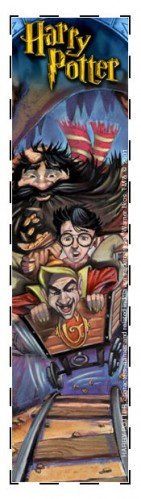 Gringotts bookmark