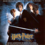 Harry Potter and the Chamber of Secrets soundtrack cover artwork