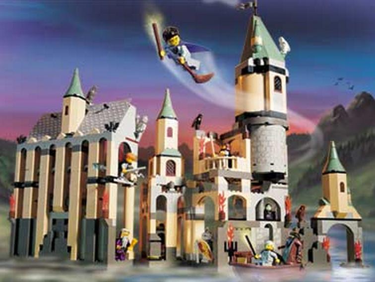 Hogwarts Castle (4709) (Image: Brickset.com)
