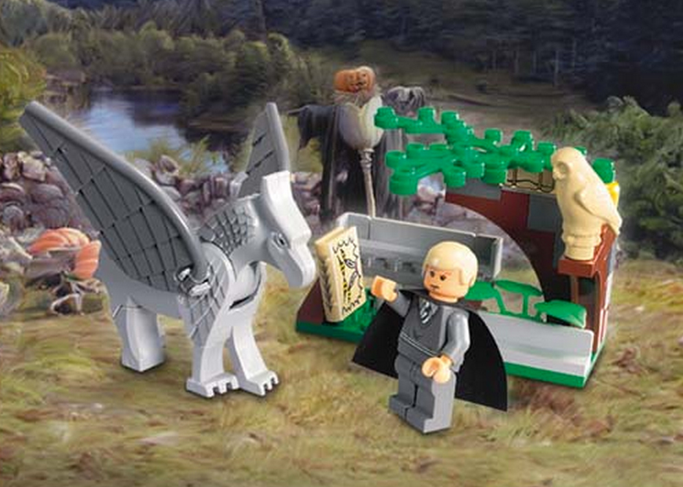 Draco's Encounter with Buckbeak (4750) (Image: Brickset.com)