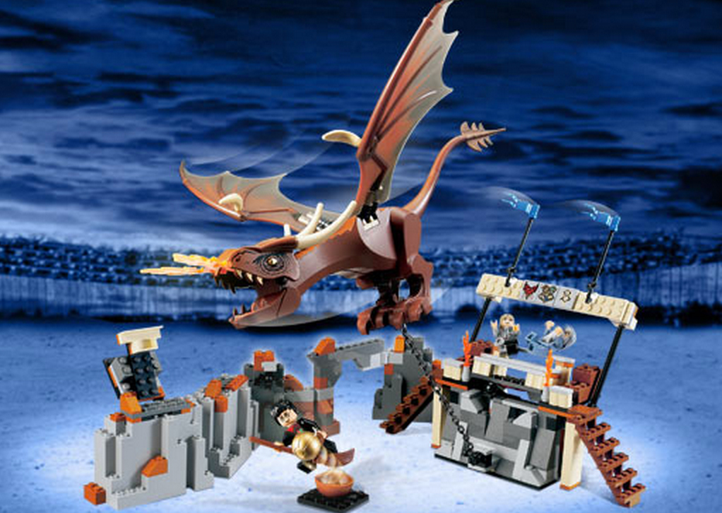 Harry and the Hungarian Horntail (4767) (Image: Brickset.com)