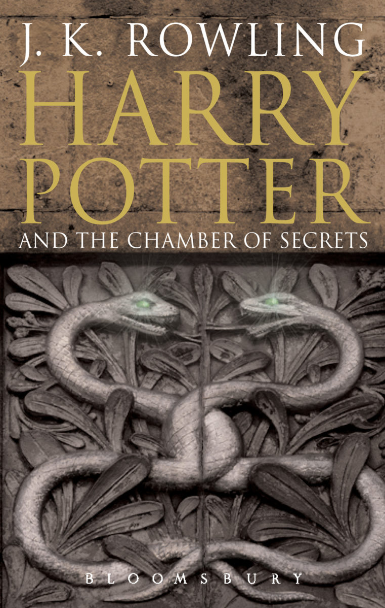 Harry Potter Book Two : Book harry potter and the chamber of secrets cover art