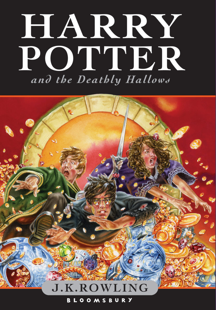 Harry Potter Book Cover Images ~ Deathly hallows uk children s edition — harry potter fan zone