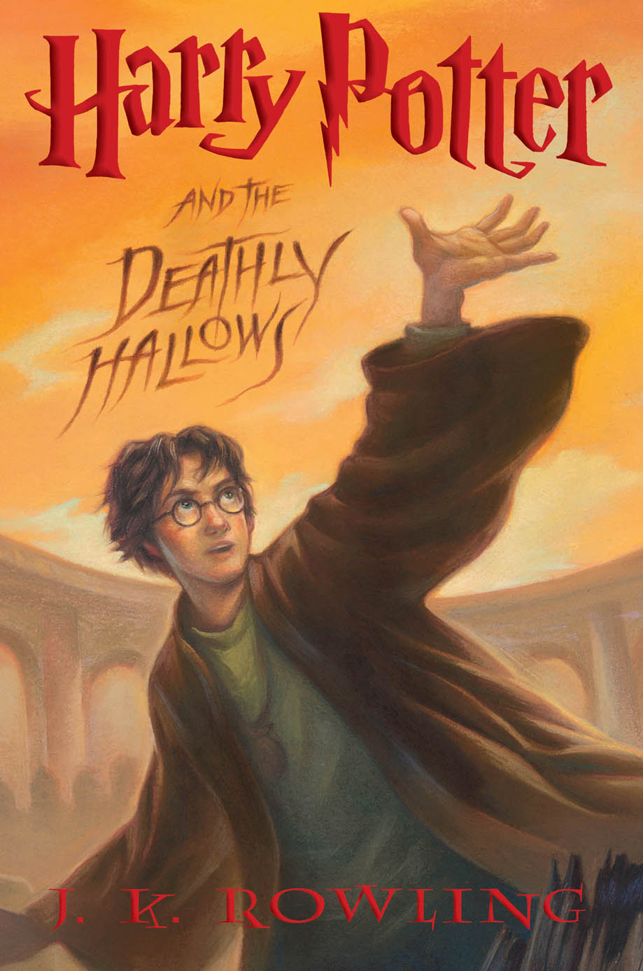book 7 harry potter and the deathly hallows cover art