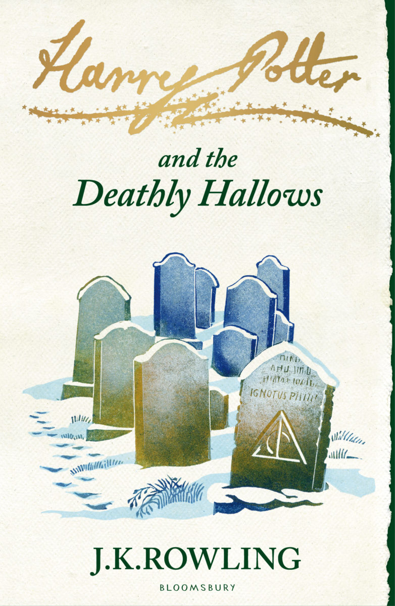 Book Cover Art Zone : Book harry potter and the deathly hallows cover art