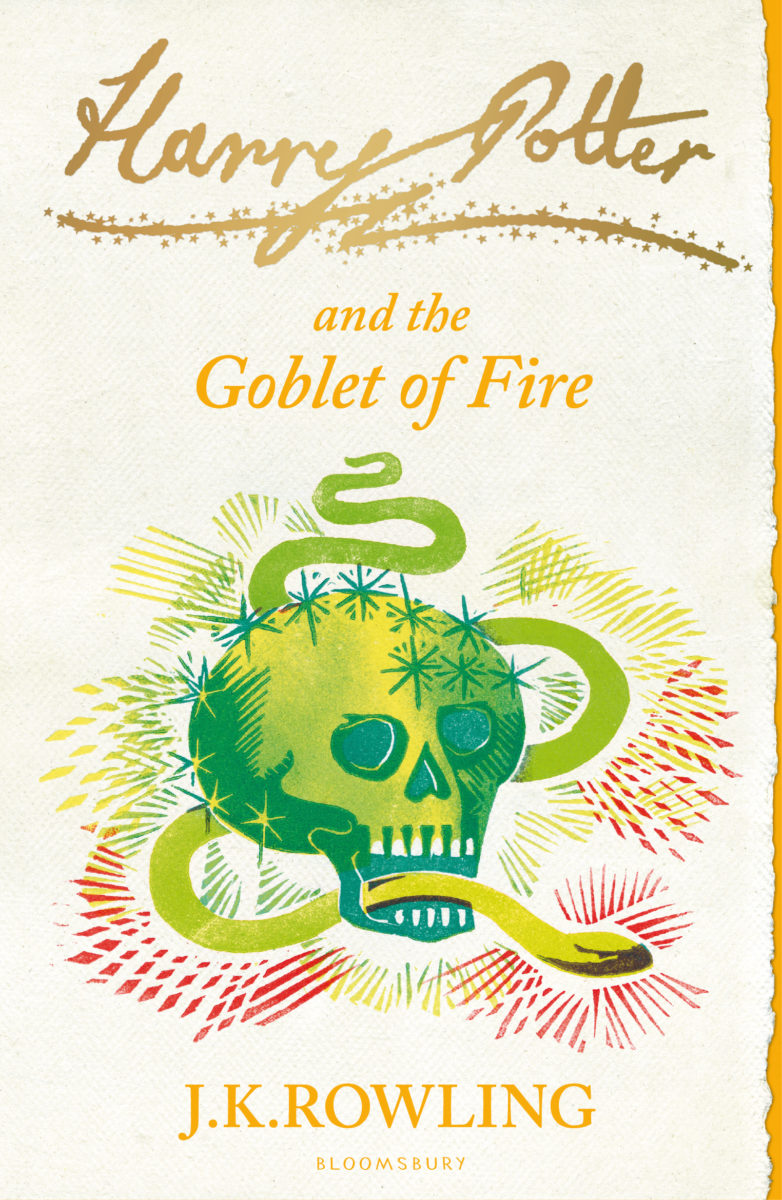 Book Cover Art Zone : Book harry potter and the goblet of fire cover art