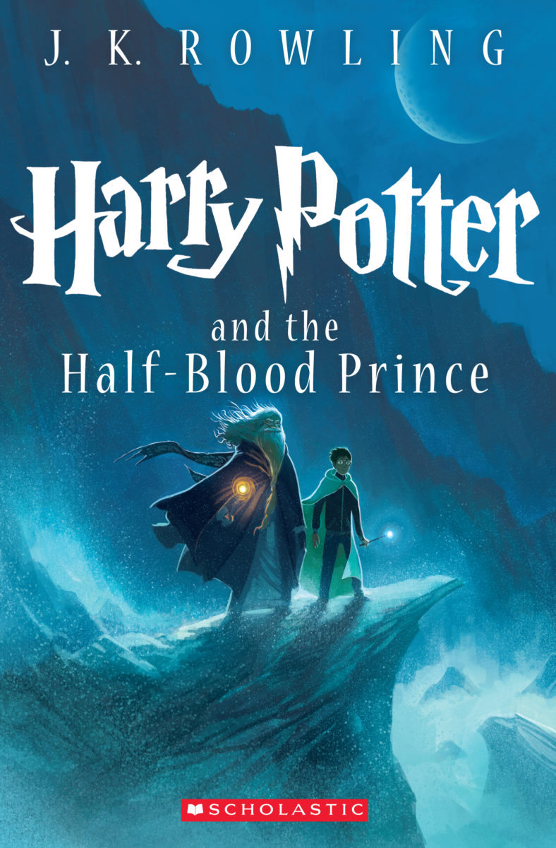 Harry Potter Book Cover Editions : Half blood prince us children s edition re release