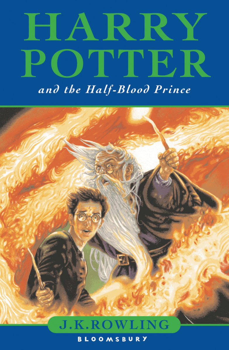 book 6 harry potter and the halfblood prince cover art