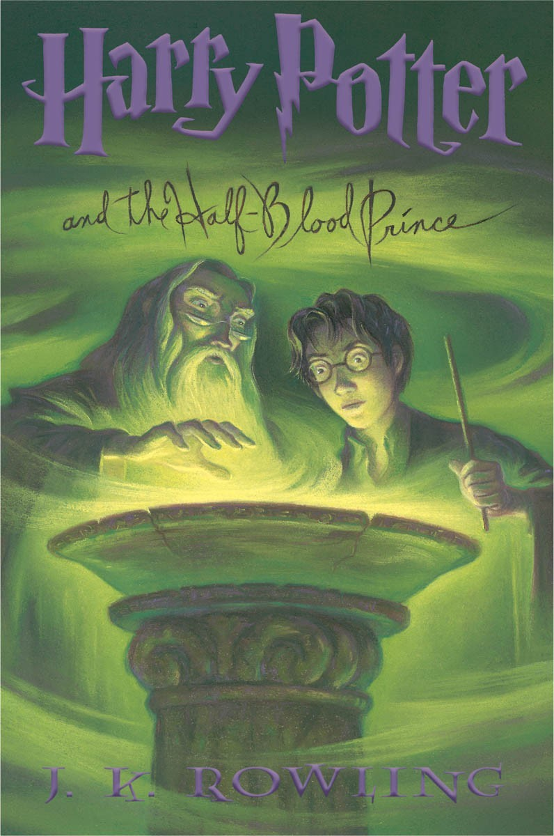Book Cover Art Zone ~ Book harry potter and the half blood prince cover art
