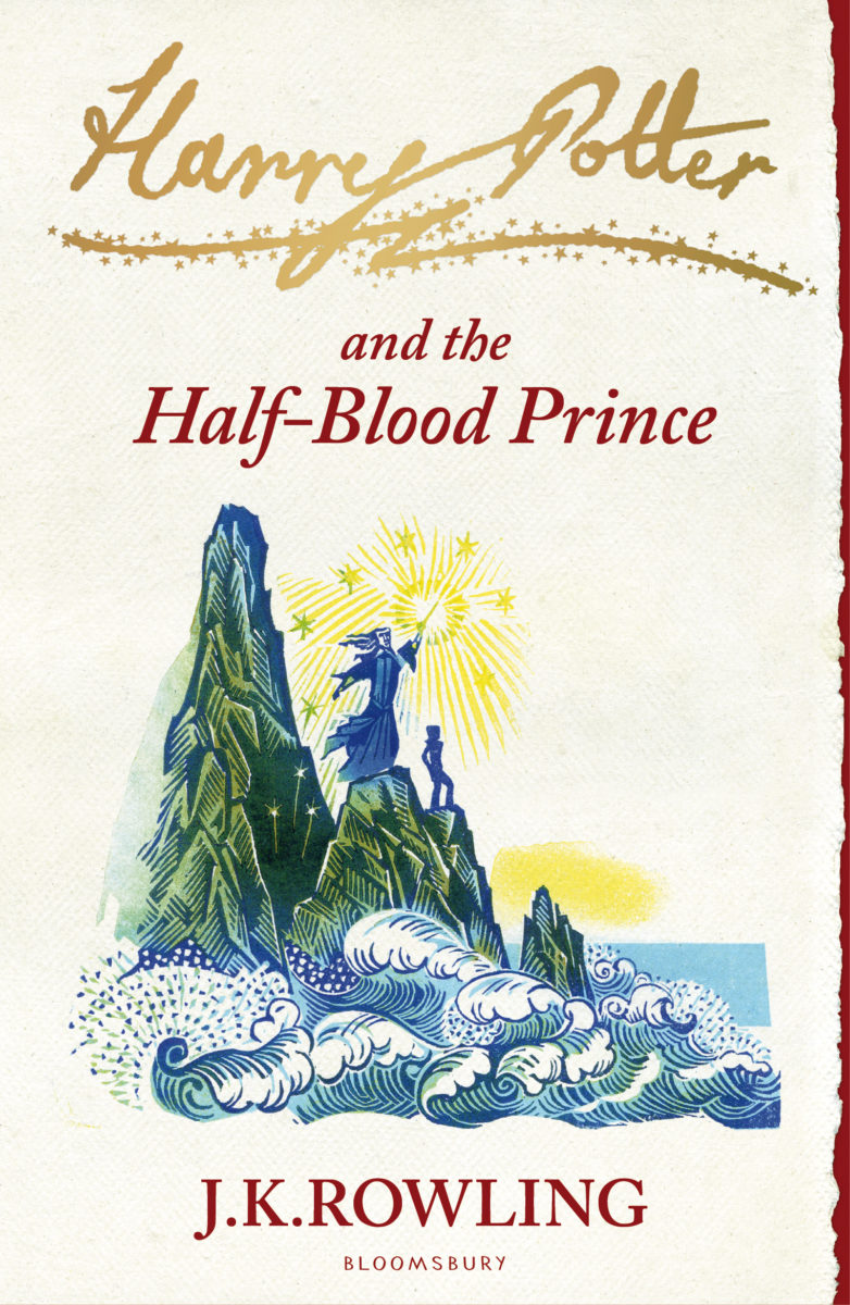 Book Cover Art Zone : Book harry potter and the half blood prince cover art