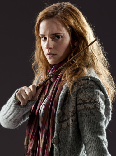 "Hermione Granger, pronounced ""Her-my-oh-knee""."