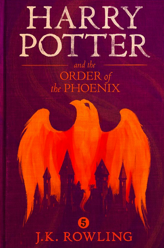 Harry Potter Book Cover Order Of The Phoenix ~ Order of the phoenix olly moss ebook cover — harry potter