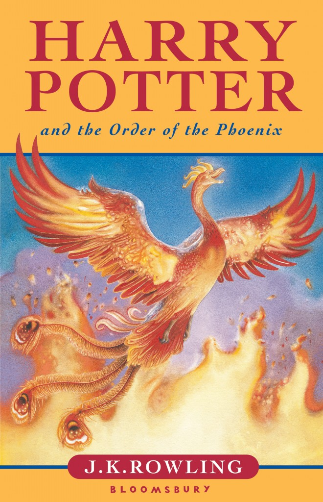 Book Cover Art Zone : Order of the phoenix uk children s edition — harry potter