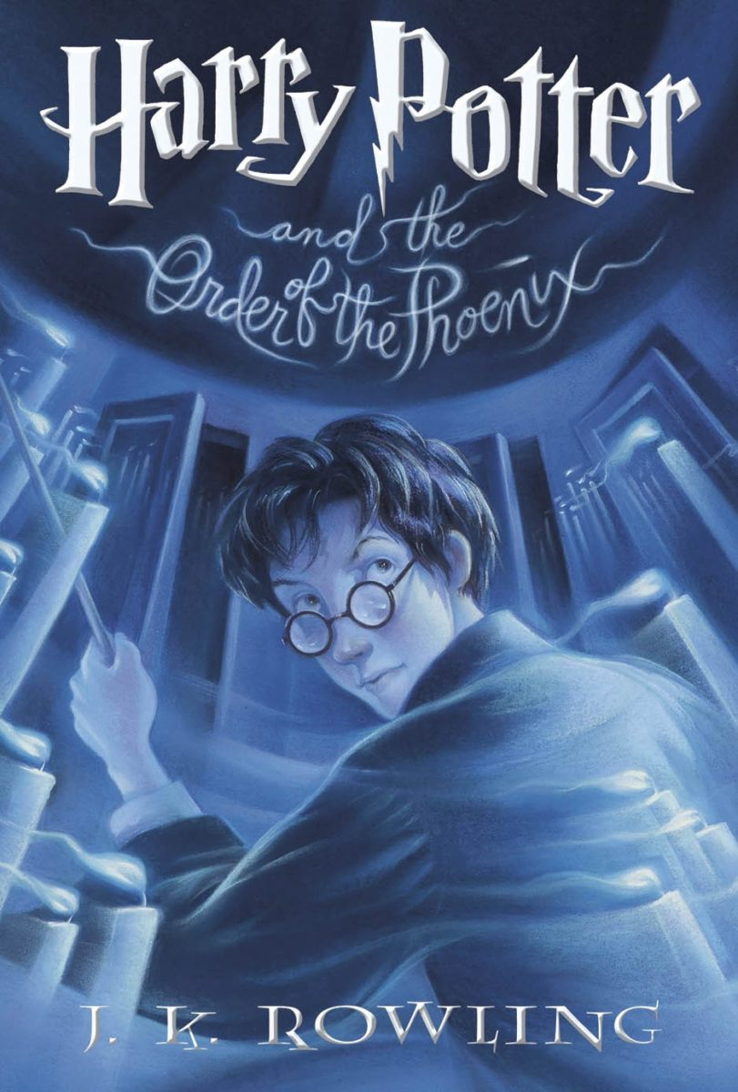 Harry Potter Book Five ~ A book cover i just designed for friend design