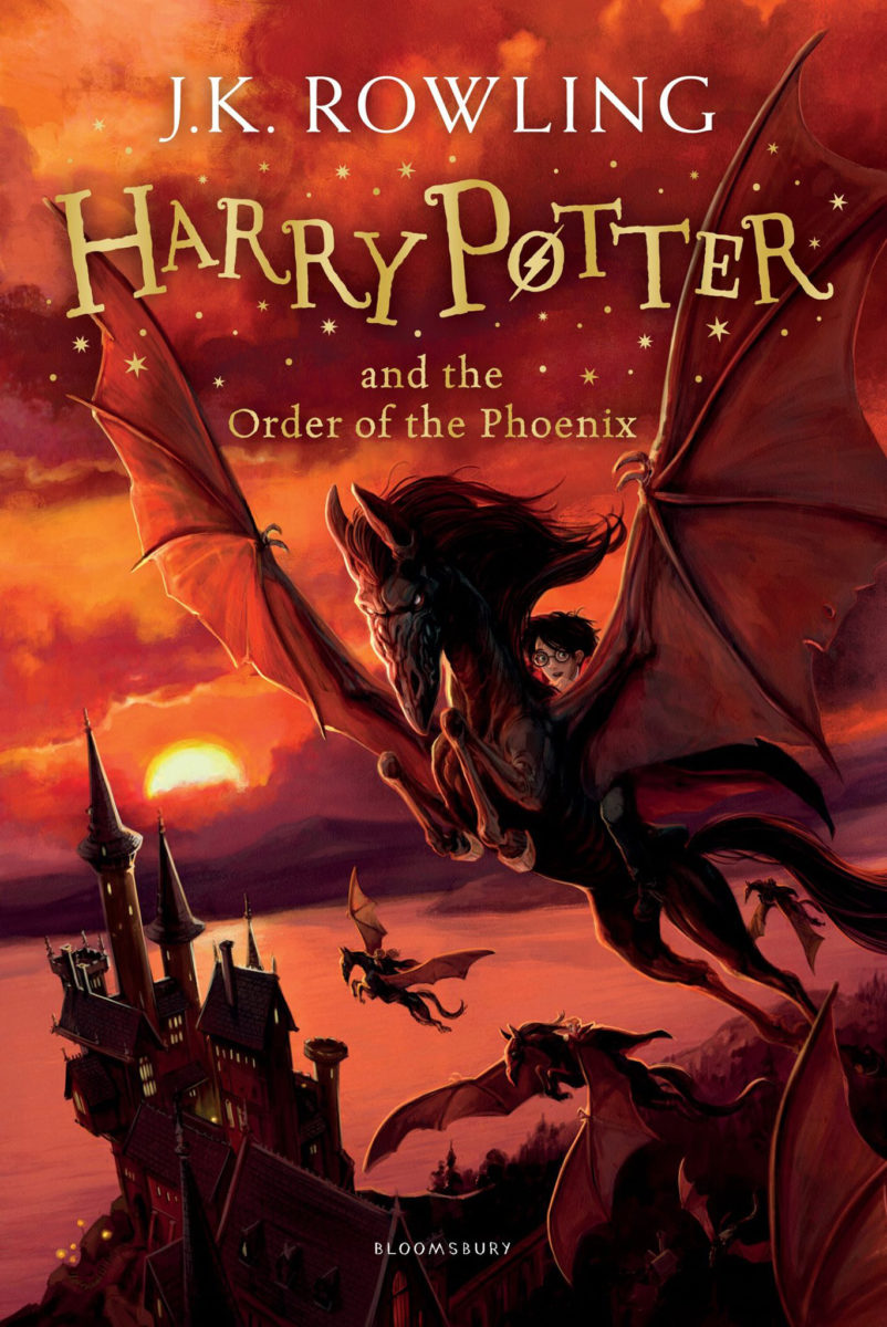 Harry Potter Book By Order : Order of the phoenix uk children s edition re