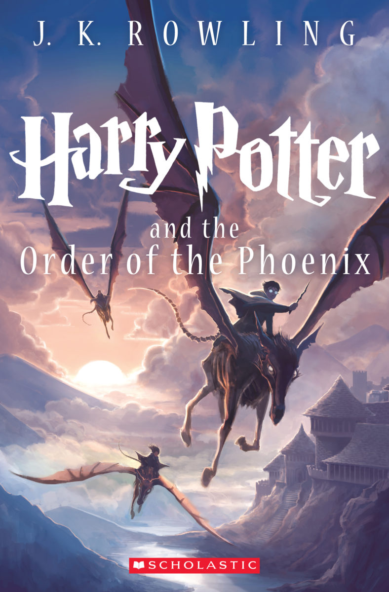 Book Cover Art Zone ~ Order of the phoenix us children s edition re