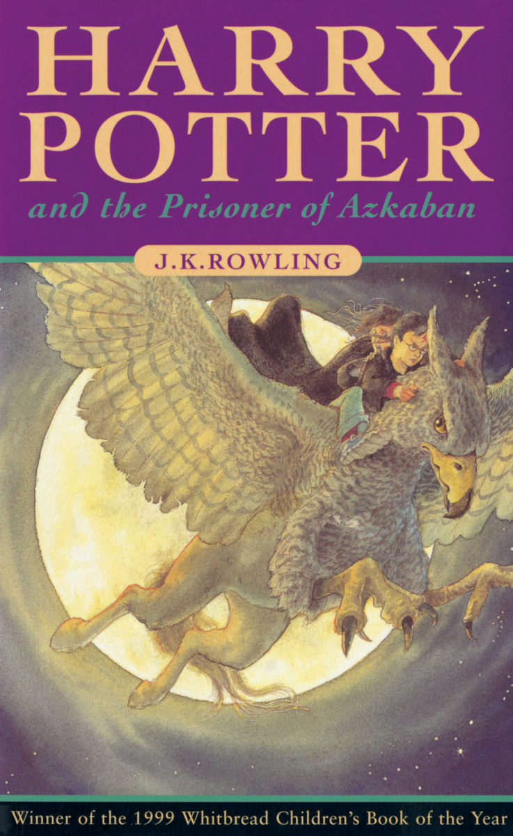 Harry Potter Book Covers Uk Vs Us : Book harry potter and the prisoner of azkaban cover