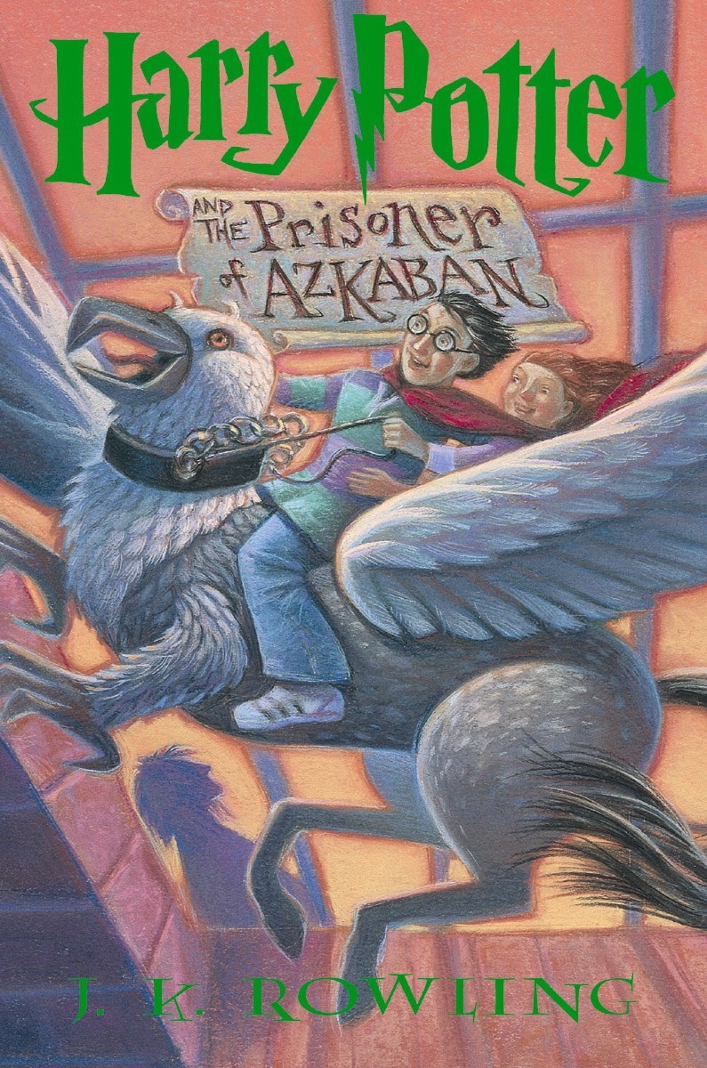 Book Cover Of Harry Potter : Book harry potter and the prisoner of azkaban cover