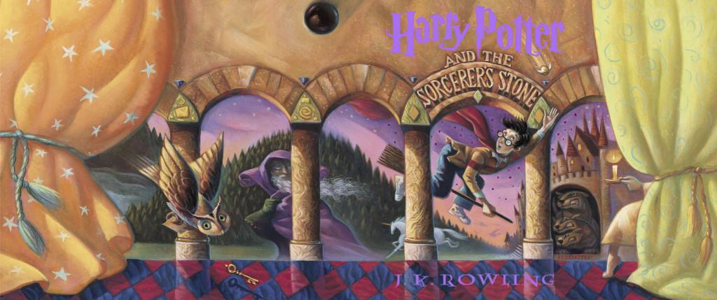 Sorcerer's Stone US children's edition (full jacket