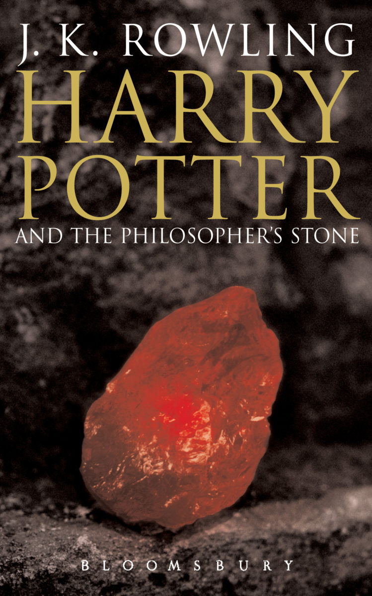 Harry Potter Book Extract : Book harry potter and the philosopher s stone cover