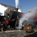 Picture of Hogwarts Express at HP theme park