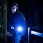Harry enters Bathilda's bedroom. He illuminates his wand. (SC130)