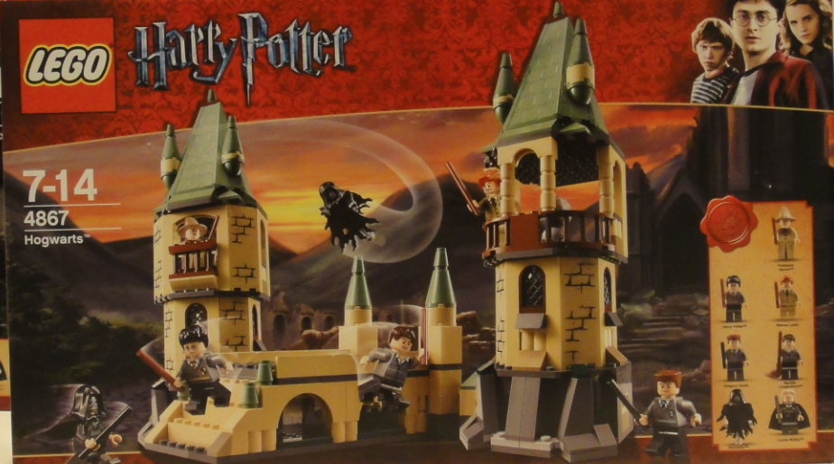 First Look At Battle For Hogwarts Lego With Seven Mini Figs