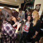 Harry Potter stars signing autographs at 'Deathly Hallows: Part 1' DVD launch in London