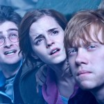 Harry, Ron and Hermione in 'Deathly Hallows: Part 2'