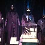 Death Eater robes at 'Harry Potter: The Exhibition' in Sydney