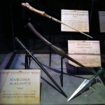 Wands at 'Harry Potter: The Exhibition' in Sydney