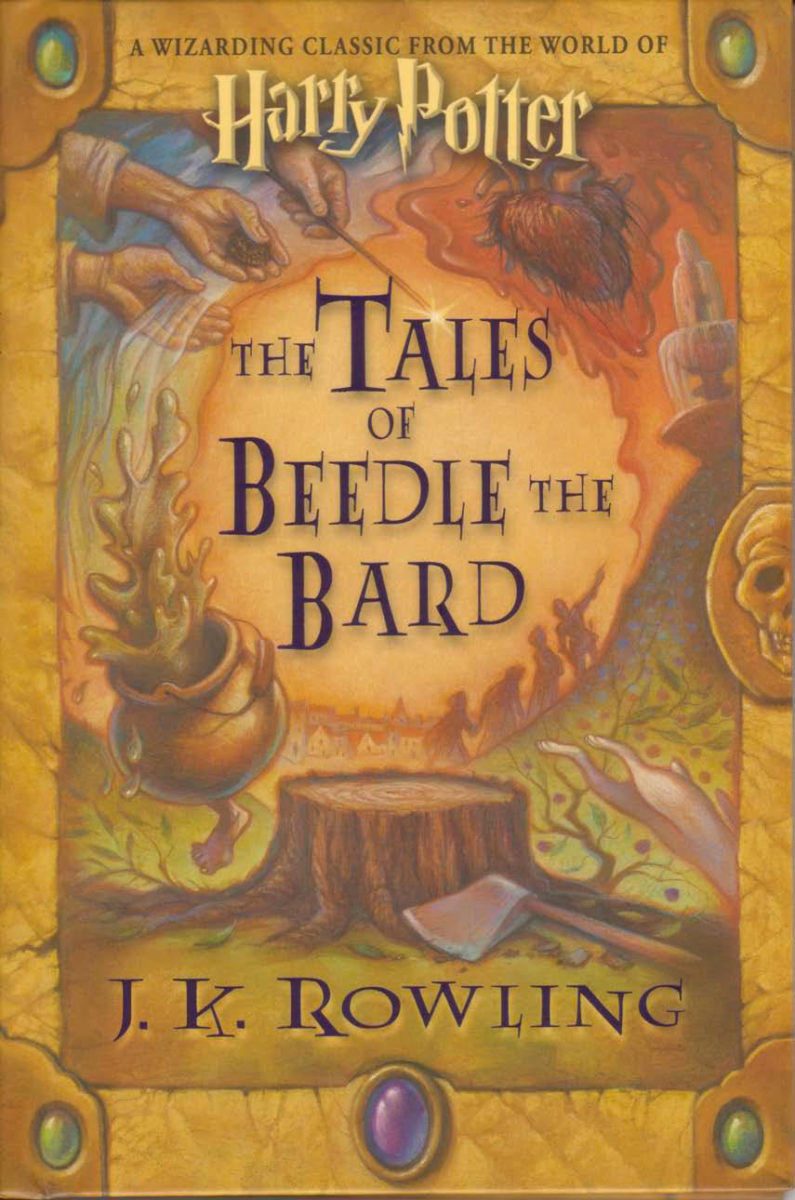 The Tales of Beedle the Bard US edition — Harry Potter Fan ...