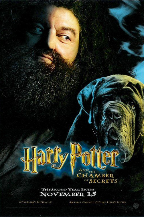 Harry potter and the chamber of secrets hagrid poster - Regarder harry potter chambre secrets streaming ...