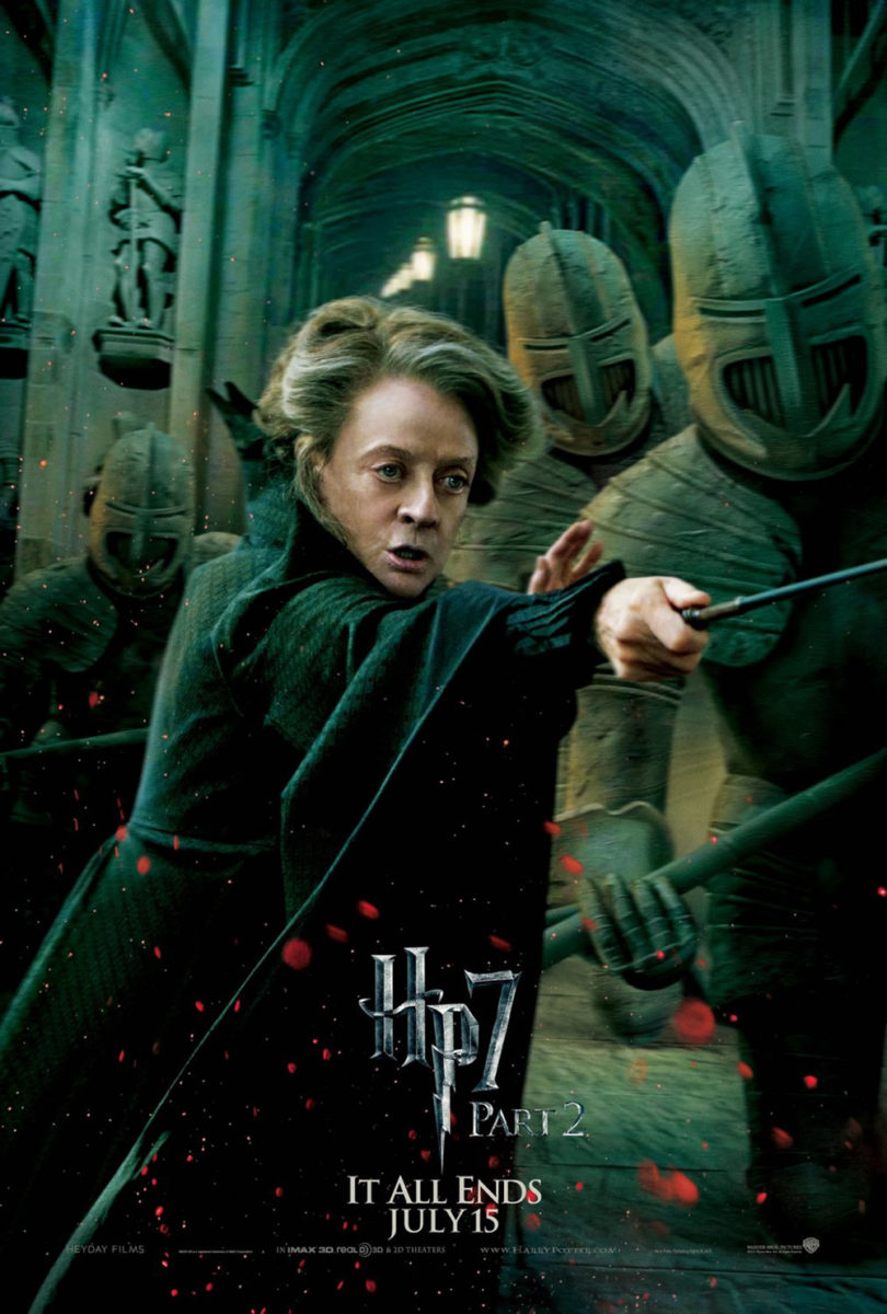 Harry Potter And The Deathly Hallows Part 2 McGonagall Poster
