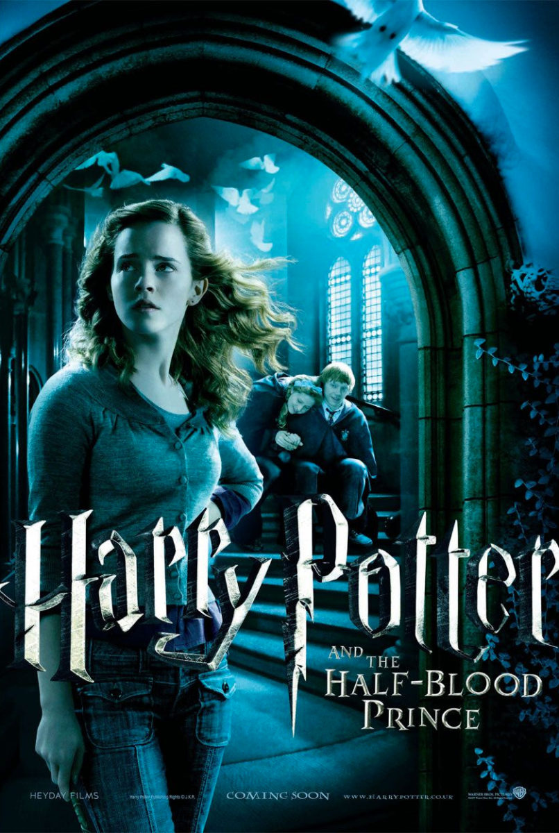 Harry Potter and the Half-Blood Prince Hermione, Ron and Lavender ...