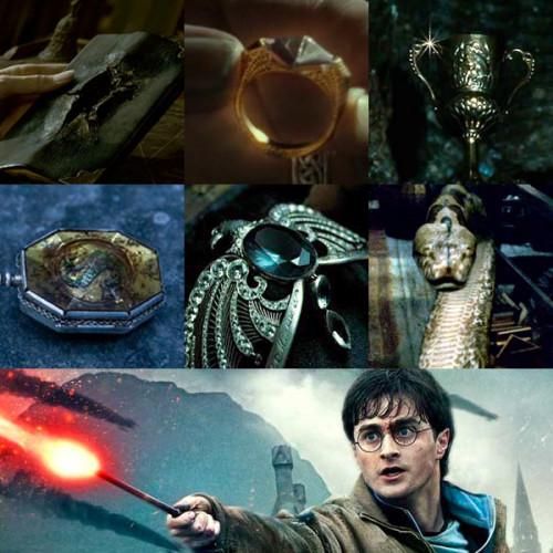 All seven Horcruxes