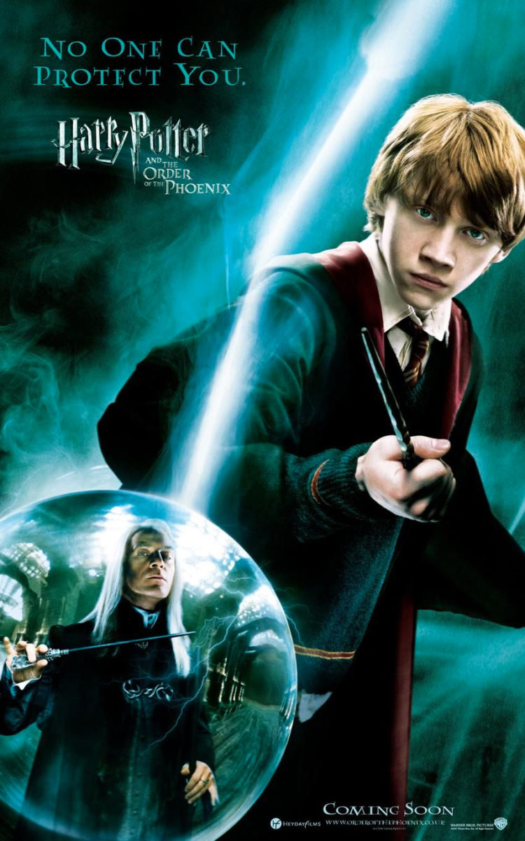 harry potter and the order of the phoenix ron poster