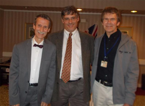 John Granger, Dr. Patrick McCauley and David Gras