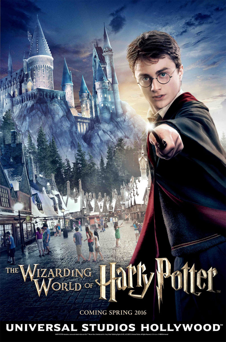 Wizarding World of Harry Potter at Universal Studios Hollywood poster