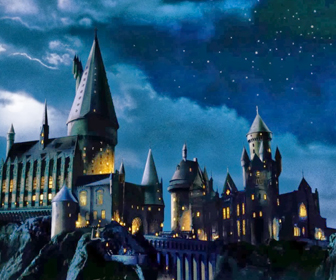 Hogwarts School of Witchcraft and Wizardry, located in Great Britain