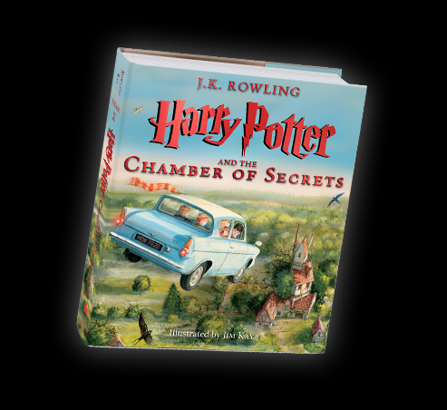 Chamber of Secrets illustrated edition