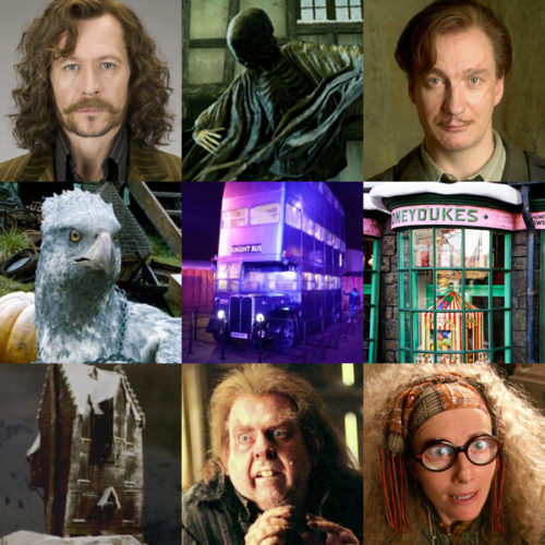 Some of the new characters and locations we'll see in the 'Azkaban' illustrated edition