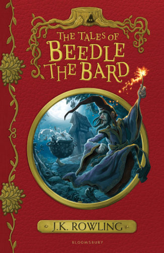 The Tales of Beedle the Bard Jonny Duddle cover