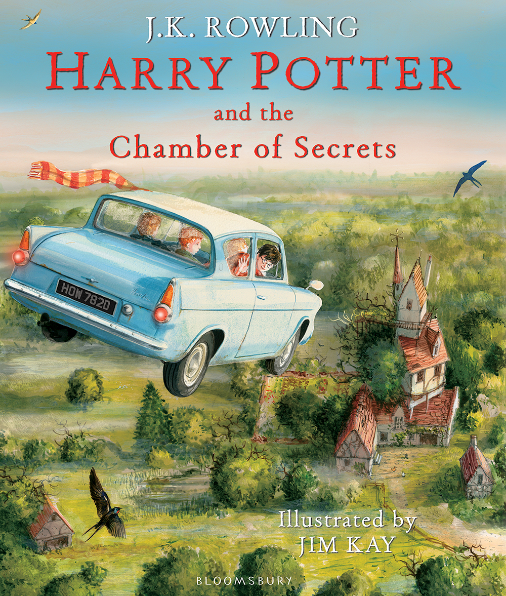'Chamber of Secrets' illustrated edition