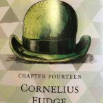 Cornelius Fudge's bowler hat