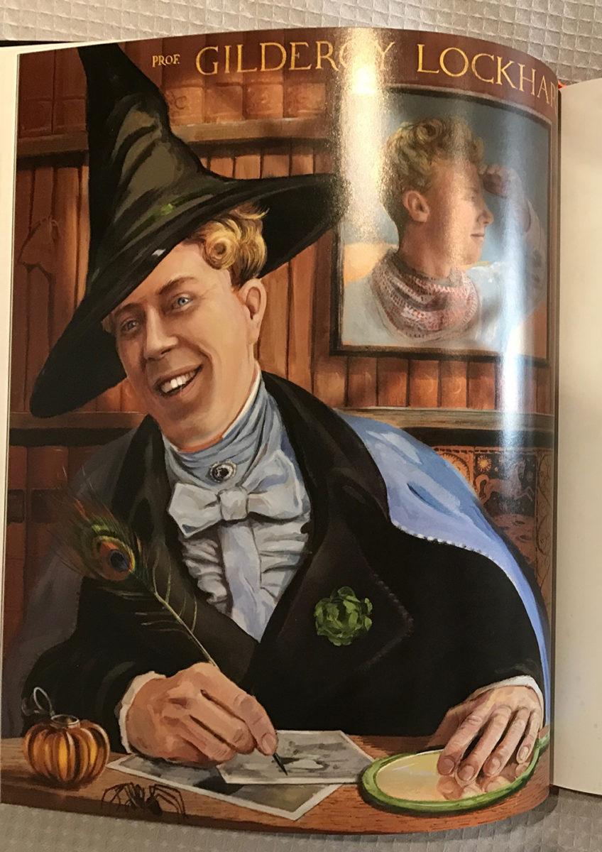 Gilderoy Lockhart Harry Potter Fan Zone